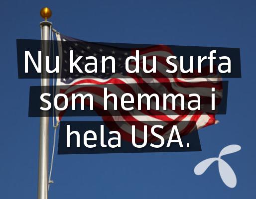 Wow nu kan du surfa som i Sverige i bland annat USA, Thailand & Schweiz. läs mer här.
